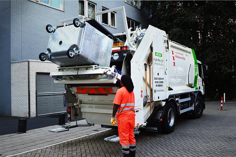 ردیابی زباله rfid